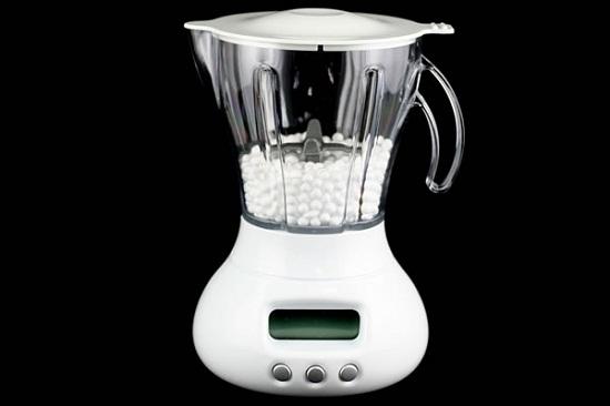 Blender Alarm Clock makes a great kitchen timer
