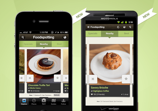 Find ratings on individual dishes with Foodspotting [Daily Freeware]