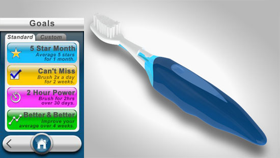 Does your toothbrush have an app?
