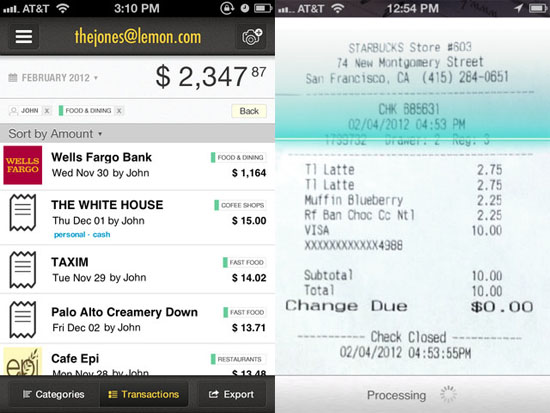 Use Lemon to keep track of your expenses [Daily Freeware]