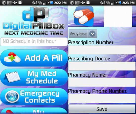 pillbox Digital Pillbox helps you keep track of your medication regimen [Daily Freeware]