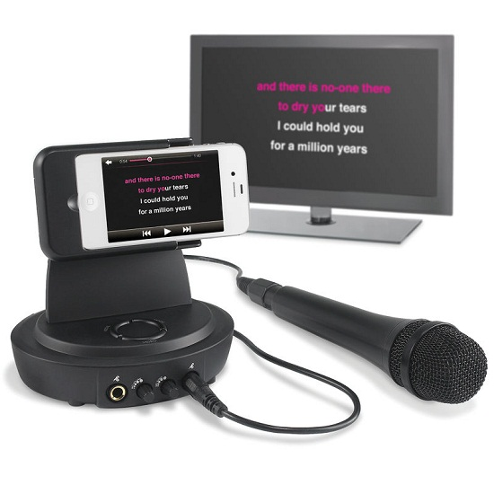 Run a karaoke system off of your iPhone