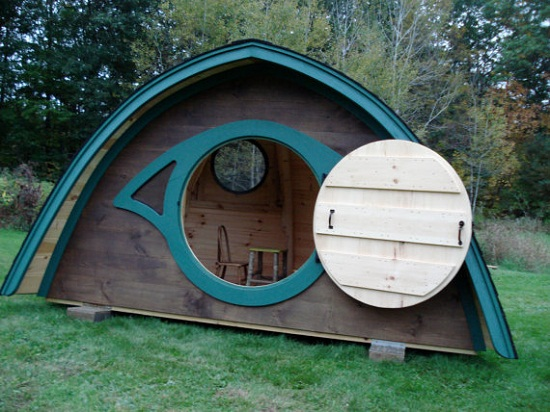 Hobbit Hole Playhouse 1 Hobbit Hole Playhouse is the closest youll get to living in Hobbiton
