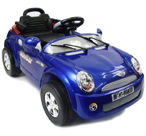 Remote Controlled Mini Cooper with R/C will have your kids rolling down the block in style