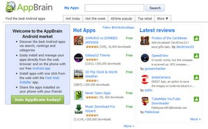appbrain small 15 Alternatives to Android Market...sorry Android Play