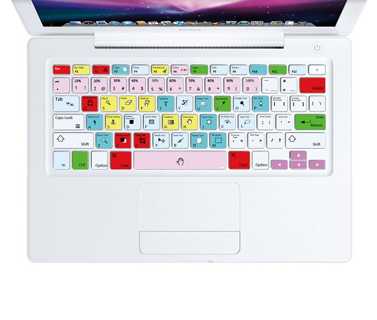 Photoshop Shortcut Decal Stickers make learning the ins and outs of PhotoShop a breeze