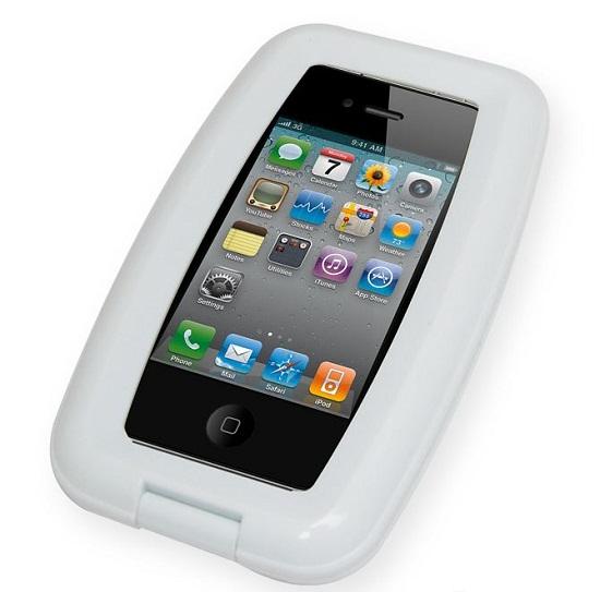 Aqua iPhone Case keeps your phone safe, rain or shine
