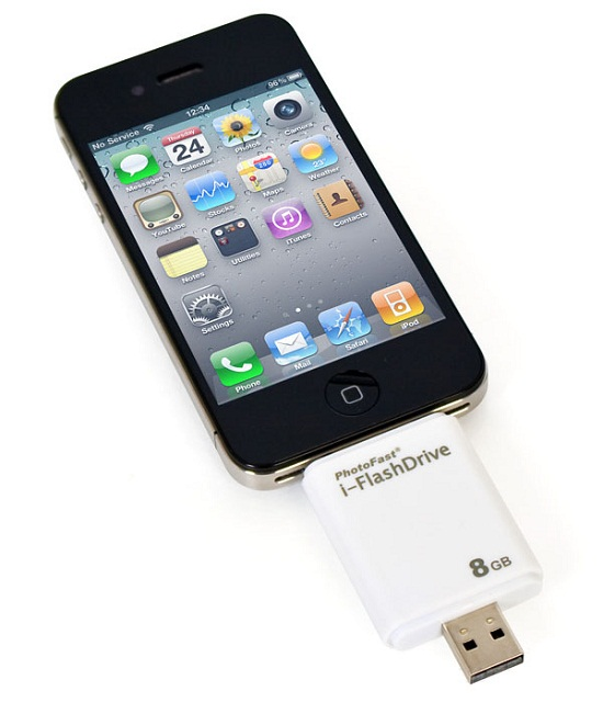 HyperDrive iFlashDrive makes transferring files a breeze