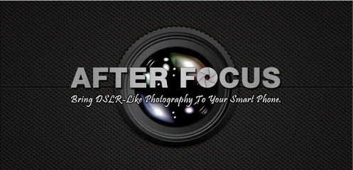 afterfocus small The amazing AfterFocus gives your smartphone gorgeous camera skills [Daily Freeware]
