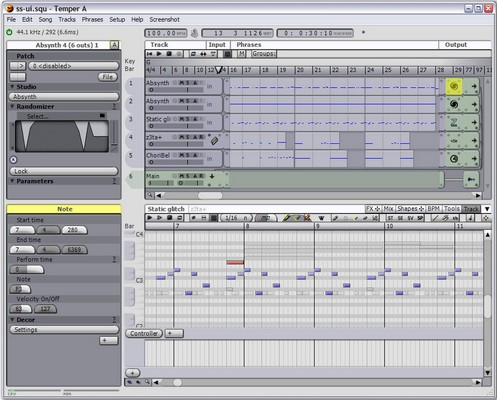 temperaudiosuite small Temper is a freeware MIDI audio sequencer with smarts [Daily Freeware]