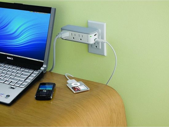 Belkin Mini Surge Protector gives you two items for the price of one