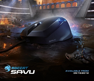 Roccat Savu Mouse: Hand is faster than the eye!