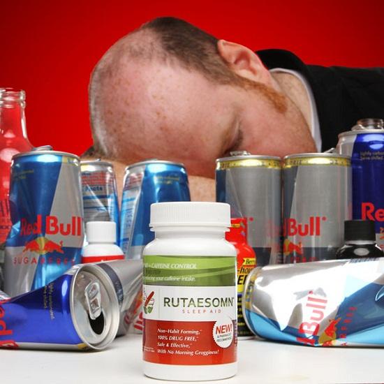 Rutaesomn de-caffeinates your body at the end of a day
