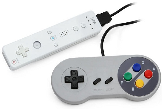 Classic Super Famicom Controller For Wii takes you way back