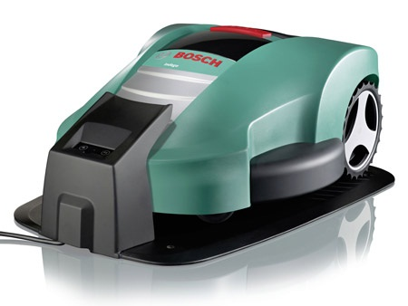 Bosch Indego is a mower that cuts your grass while you snooze!