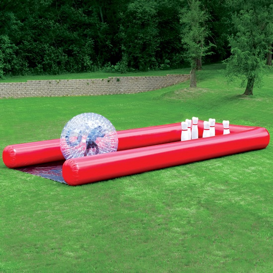 The Human Bowling Ball gives you a look into your hamster's life
