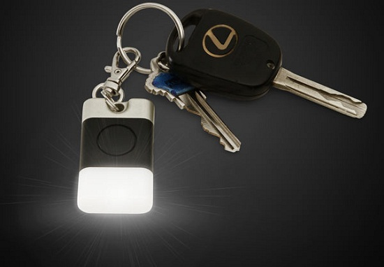 Low Glow Key Fob makes sure you have a light in dark times