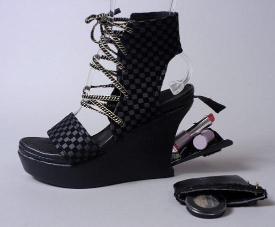 Double Agent Shoes have secret compartments