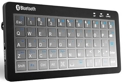 3-in-1 Bluetooth Keyboard Charger is the world's first emergency charger keyboard