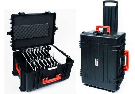 Insync Transport Case will let you charge an army of Apple devices