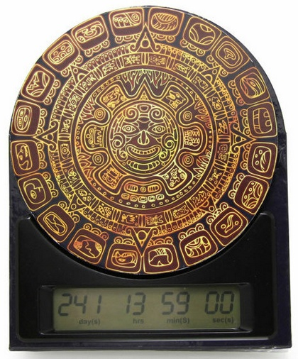 The Mayan Countdown Clock shows how long till the end of the world…and beyond