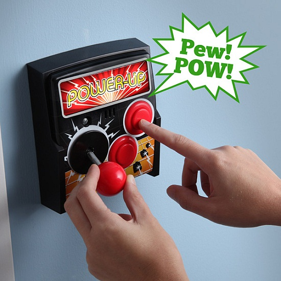 Power-Up Arcade Light Switch Plate makes your home feel like an arcade