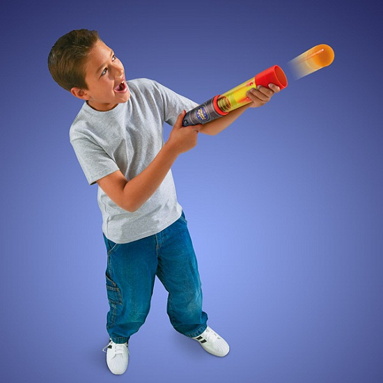 Roman Candle Fireball Blaster won't end your day with a trip to the hospital