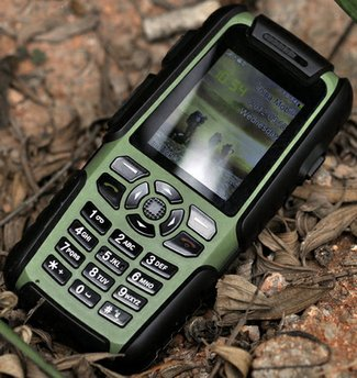 Vigis Cell Phone Walkie Talkie is Rambo rugged and oh so versatile