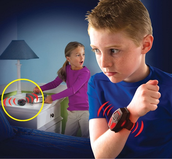 Stay Out Of My Room Alarm gives kids a security system for their toys