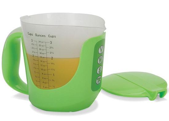 Talking Measuring Cup take the guesswork out of cooking