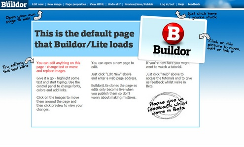 buildorlite Buildor Lite helps you run up a website in minutes