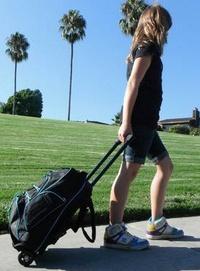 Glyde Gear Fly Backpack Scooter – wear it, roll it, ride it!