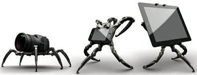 Life-Phorm Positioning Device clamps scary alien horror to our innocent gadgets