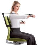 Office Gym saves you a fortune on those membership fees and keeps you healthy…yeah!