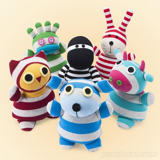Heated Sock Animals keep you snug as a bug on a rug