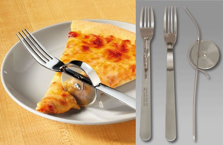 Nyfork takes on two jobs in one utensil