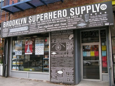 Brooklyn Superhero Supply Co – the essential crime fighting superstore