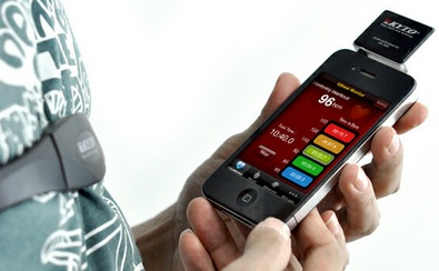 Kyto Heart Rate Monitor for smartphones keeps you fit and healthy at a great price