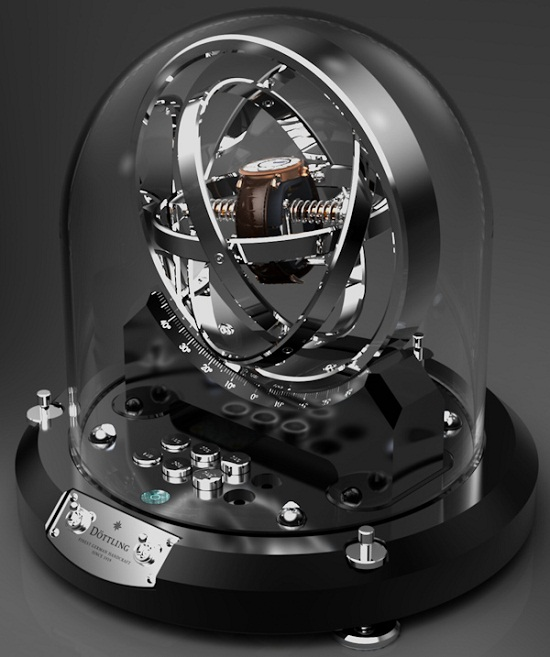 Dottling Gyrowinder Watch Winder will give your timepiece motion sickness