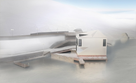 Transforming house can adapt to changing seasons