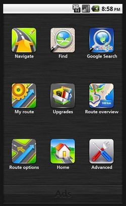 NAVFree GPS Navigation – free turn by turn navigation for your Android phone with no data downloads [Freeware]
