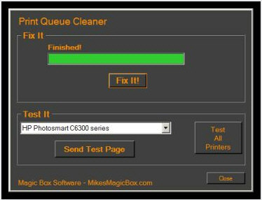 Print Queue Cleaner – banish the dreaded Windows printer stall forever [Freeware]
