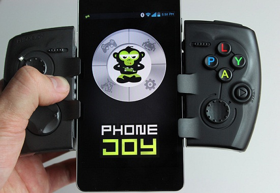 PhoneJoy Play makes your phone into a miniature console