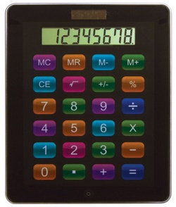 App Calculator – the solar powered calculator that's designed to look like a tablet app