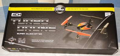 Turbo Drone Quadcopter – pint sized funster comes at a nice price [Review]