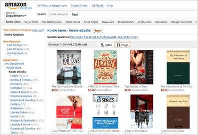 Amazon Hack: how to get free Amazon eBooks in your favorite