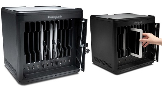 Charge and Sync Cabinet will hold precious cargo…and charge it!