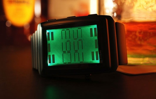 Kisai OTO LCD Watch – dance to the music!