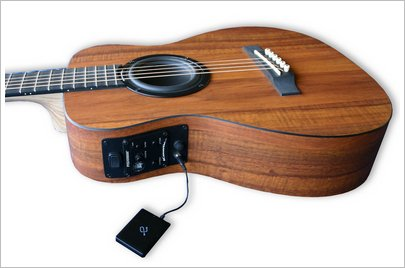 iCoustic Wireless BT Guitar – new Bluetooth guitar lets you rock out to your phone tracks
