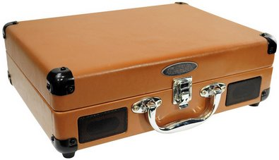 Pyle Retro Rechargeable Briefcase Turntable – charge it, carry it, play it loud…